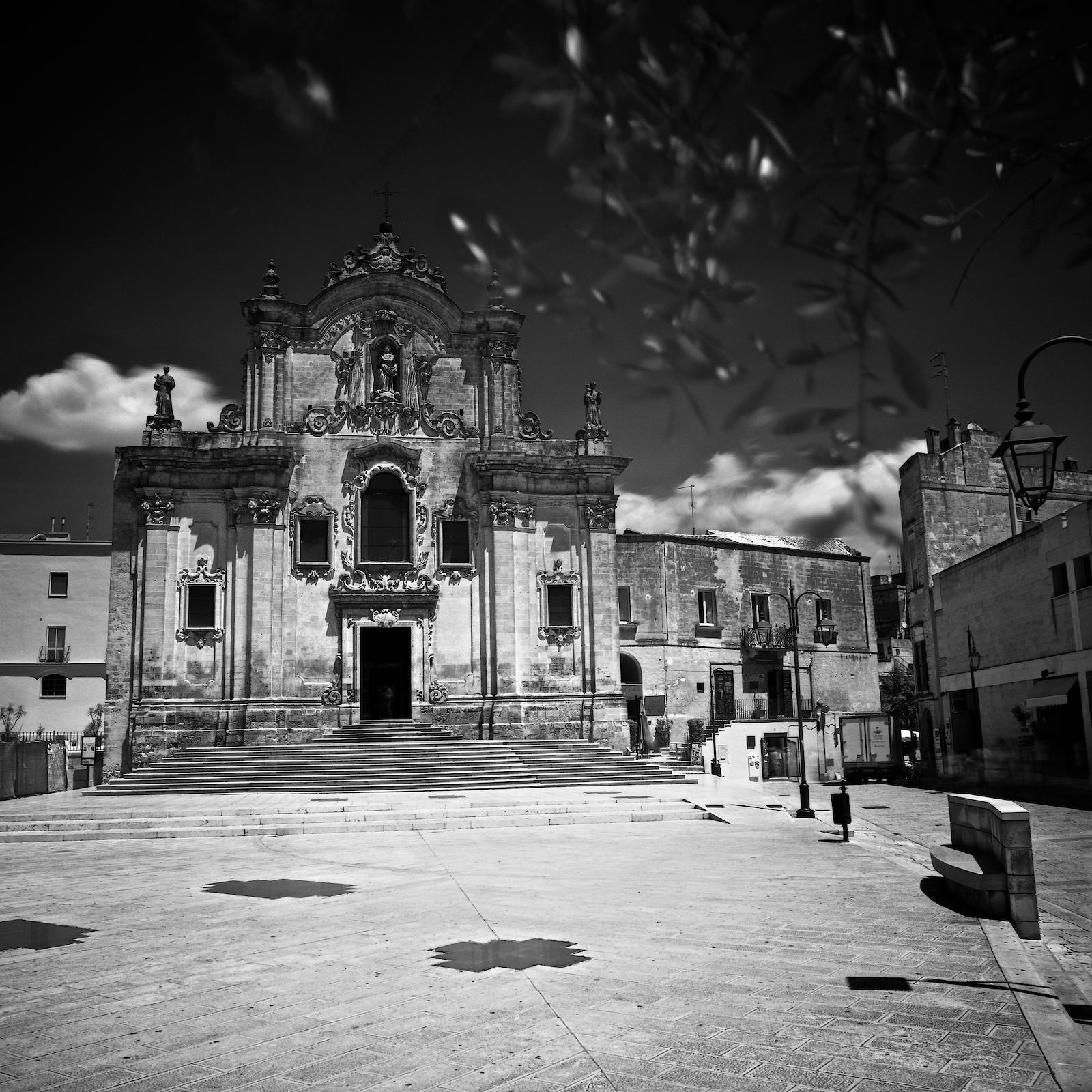 Matera :: Chiesa di San Francesco D\'Assisi