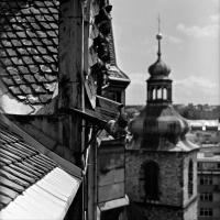 Prague Church's Roof 2015